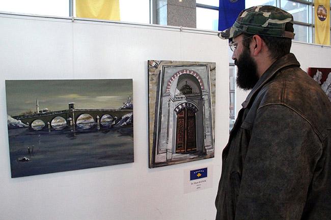 Balkan ressamları Edirne'de buluştu