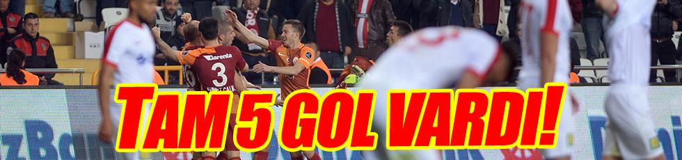 Antalyaspor 2-3 Galatasaray / Maç Özeti