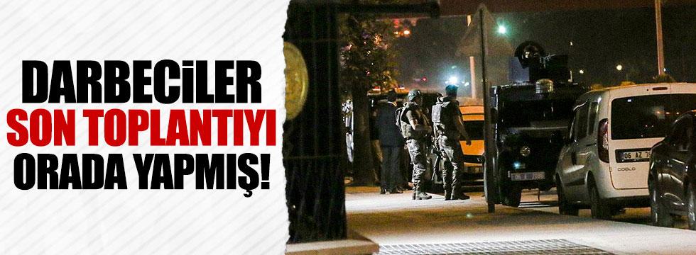 """""""Son toplantıyı Tandoğan'da"""""""