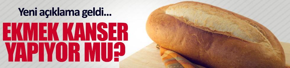 Ekmek kansere yol açar mı?