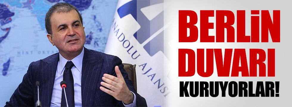 Çelik: Türkiye ile kendi aralarında Benrlin