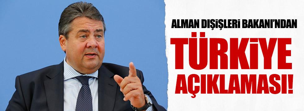 Alman Dışişleri Bakanı'ndan Türkiye açıklaması