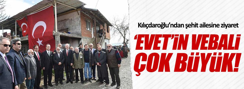 Kılıçdaroğlu: 'Êvet' çıkarsa sonu dipsiz kuyuya düşeriz