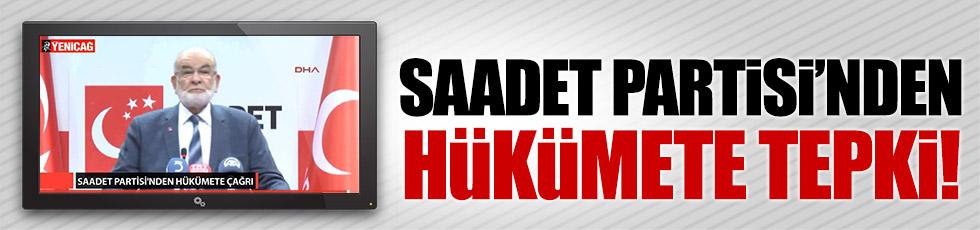 Saadet Partisi'nden AKP'ye tepki