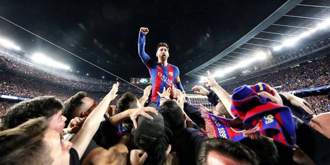 Barcelona tarih yazdı (maç özeti)