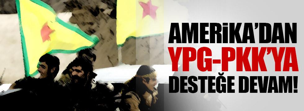 ABD, terör örgütü PYD'ye desteğini sürdürüyor!