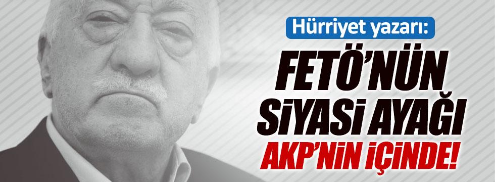 """""""FETÖ'nün siyasi ayağı AKP"""""""