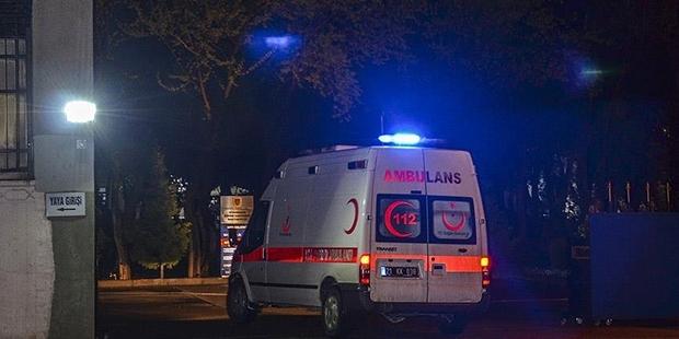 Alanyasporlu futbolcular kaza geçirdi