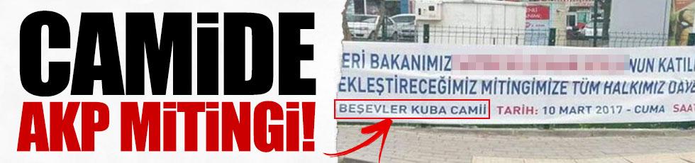 Camide AKP mitingi