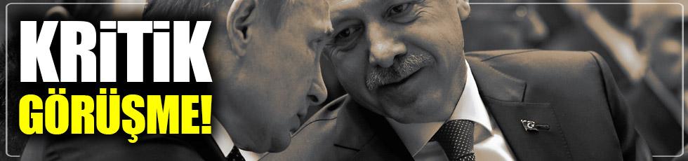Erdoğan-Putin görüşmesi başladı.
