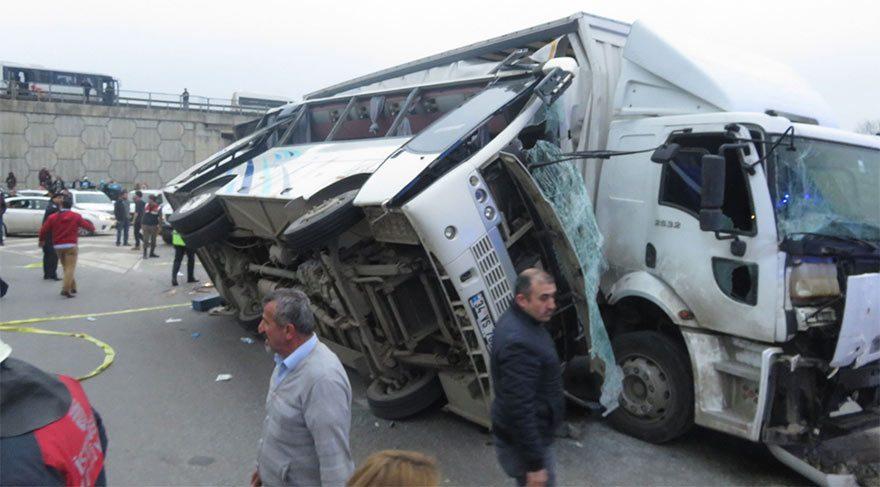 Tuzla'da korkunç kaza