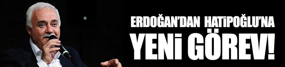 Erdoğan'dan Hatipoğlu'na yeni görev!