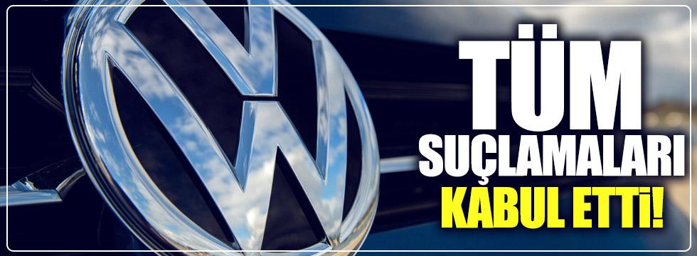 VW, tüm suçlamaları kabul etti