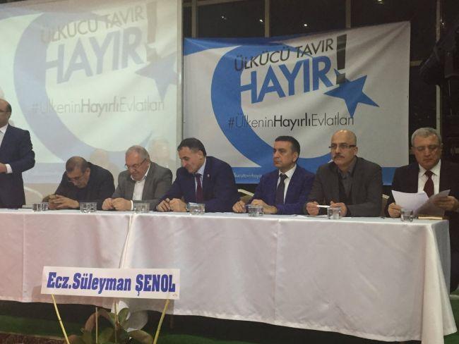 Ülkü Ocakları Başkanları Konya'dan seslendi: Hayır!