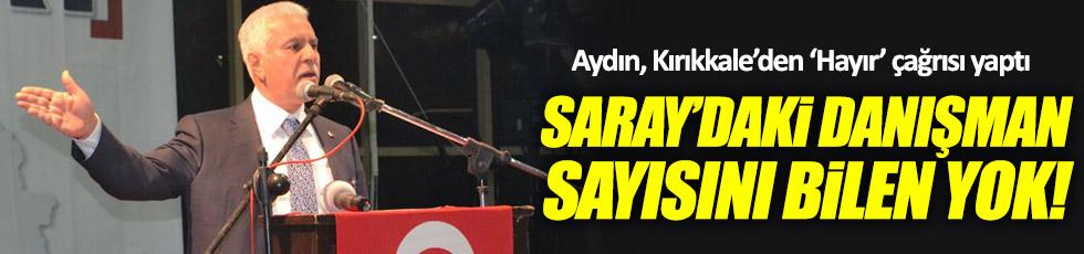 Aydın, Kırıkkale'den 'Hayır' çağrısı yaptı
