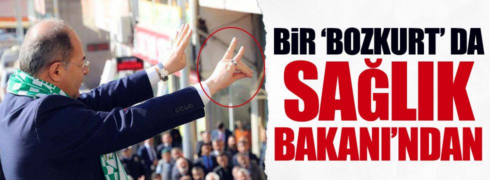 Bir 'bozkurt' da Sağlık Bakanı Akdağ'dan
