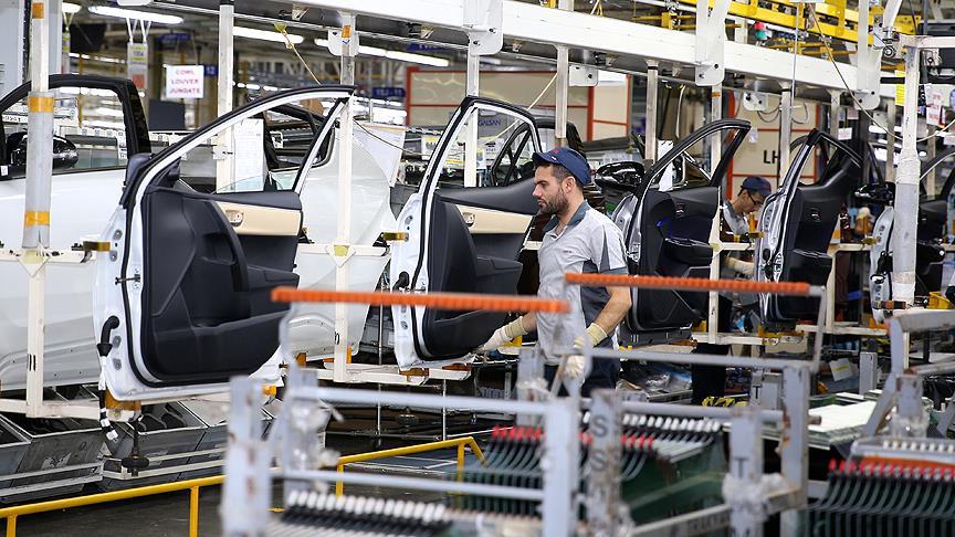 Otomotiv üretimi şubatta yüzde 15 arttı