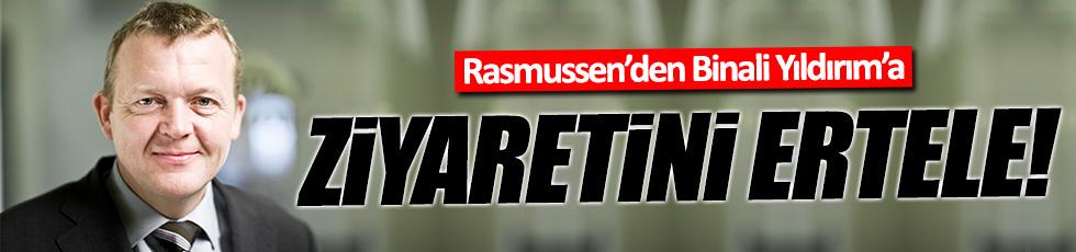 Danimarka'dan Binali Yıldırım'a erteleme talebi