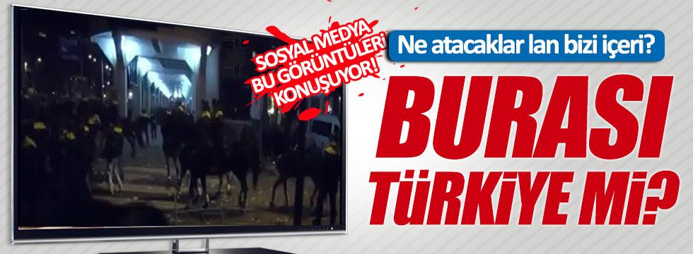 Bu görüntü paylaşım rekorları kırıyor: Ne atacaklar lan bizi içeri, burası Türkiye mi?