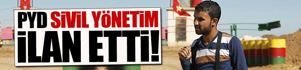 PYD Membiç'te yönetim ilan etti!
