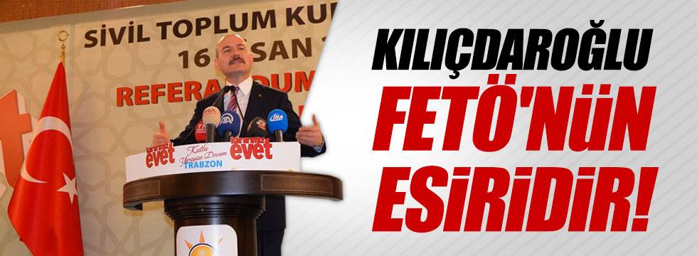 """Soylu: """"Kılıçdaroğlu FETÖ'nün esiridir"""""""