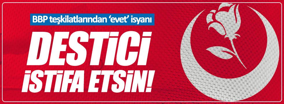 Alperenlerden Destici'ye sert tepki: İstifa et!