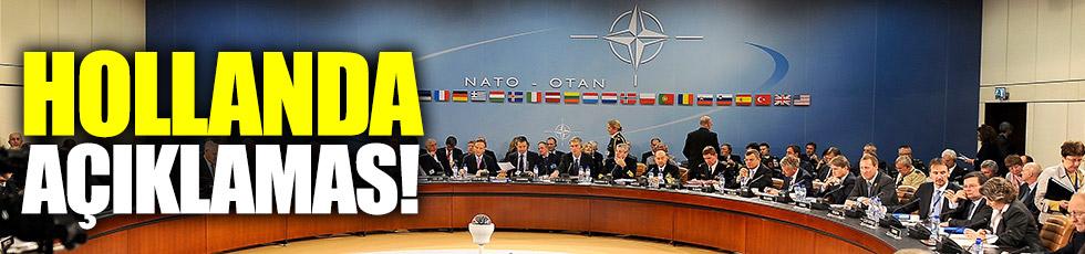 NATO'dan Türkiye ve Hollanda açıklaması!
