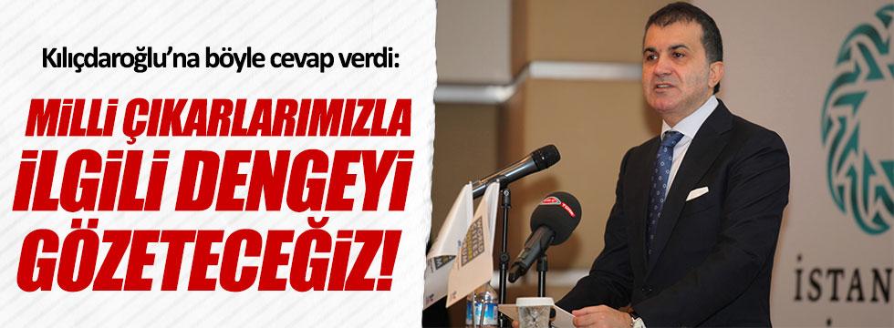 Bakan Çelik'ten Kılıçdaroğlu'na cevap