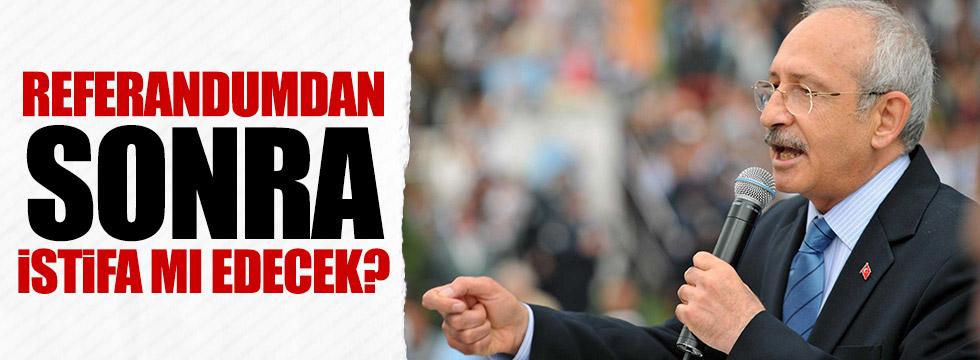 Kılıçdaroğlu'dan istifa açıklaması!