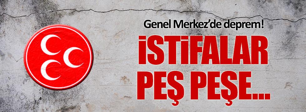 MHP Genel Merkezi'ne Kayseri ve Isparta'dan kötü haber