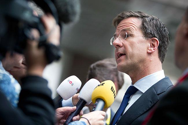Hollanda seçimlerine Hükümet'ten ilk yorum