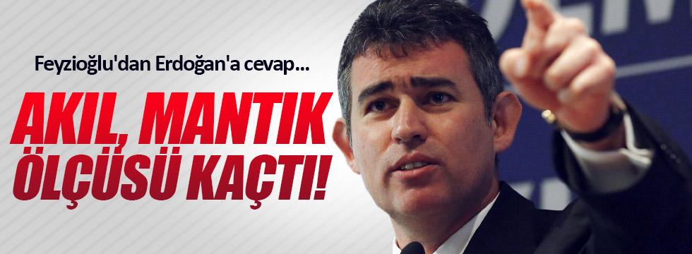 Feyzioğlu'ndan, Erdoğan'a sert tepki