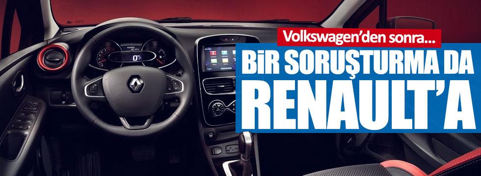 Renault'a soruşturma