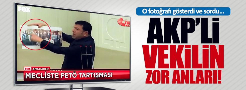 AKP Grup Başkan Vekili'nin zor anları
