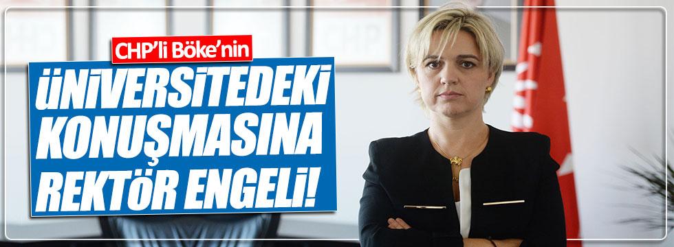 Boğaziçi Üniversitesi Rektörlüğü, CHP'li Böke'nin toplantısını iptal etti