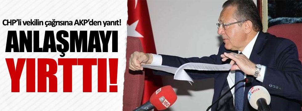 AKP'li Uğur, Rotterdam Limanı Anlaşması'nı yırttı!