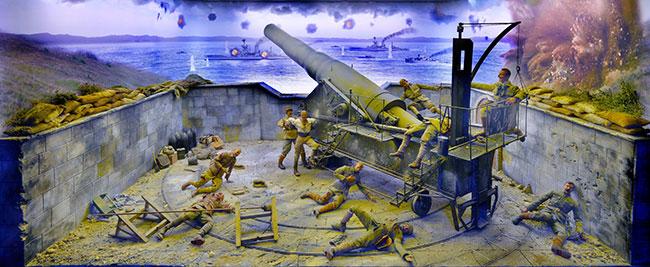 Seyit Onbaşı dioraması AKS'de