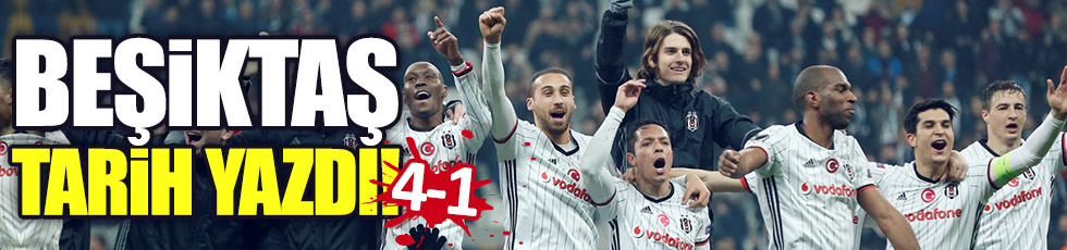 Beşiktaş 4-1 Olympiakos (Maç Özeti)