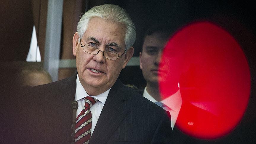 Tillerson Türkiye'ye gelecek