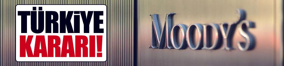 Moody's, Türkiye'nin kredi notunu negatife düşürdü