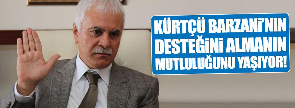 Aydın: Kürtçü Barzani'nin desteğini almanın mutluluğunu yaşıyor!
