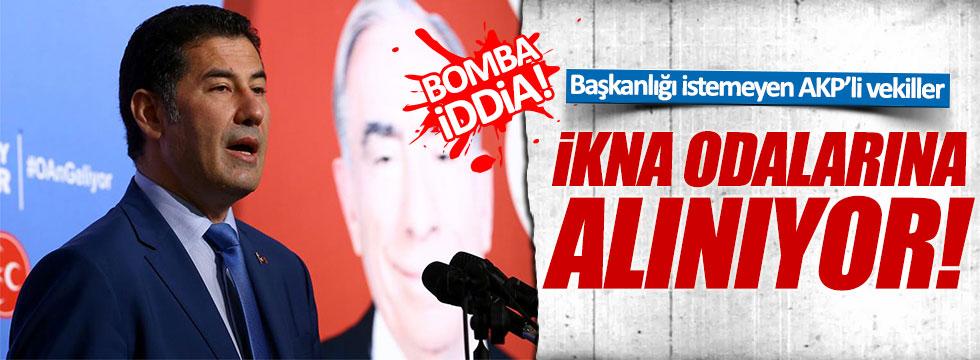 Oğan: Başkanlığı istemeyen AKP'liler ikna odalarına alınıyor