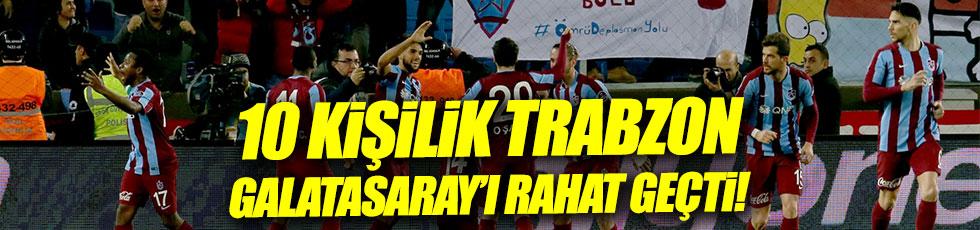 Trabzonspor 2-0 Galatasaray / Maç özeti