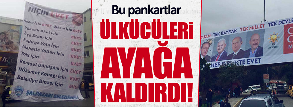Ülkücüler Trabzon'a asılan pankartı konuşuyor!