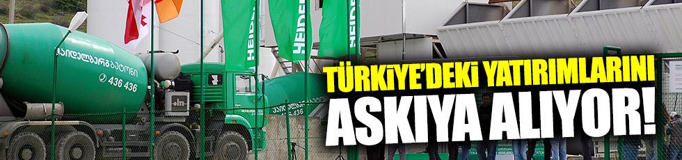 Alman firması Türkiye'deki yatırımlarını askıya alıyor!