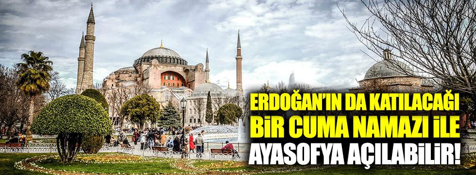 Erdoğan'ın da katılacağı bir Cuma Namazı ile...