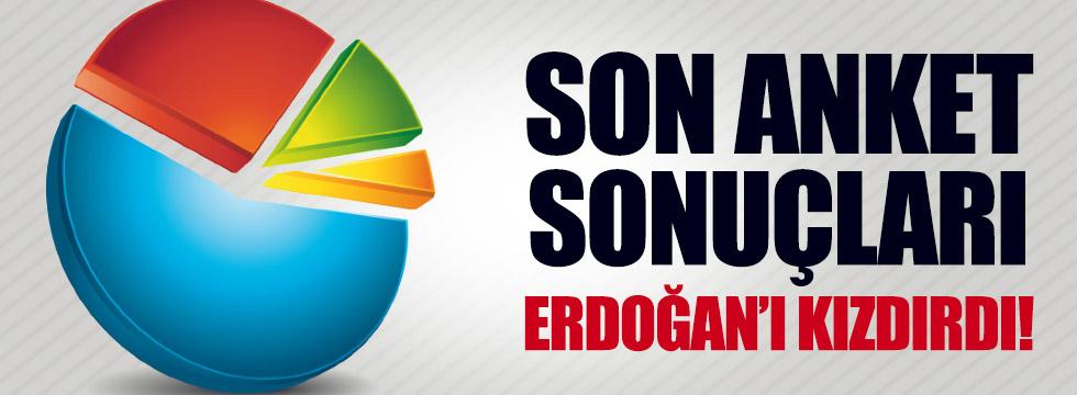 Son anket sonuçları Erdoğan'ı kızdırdı!
