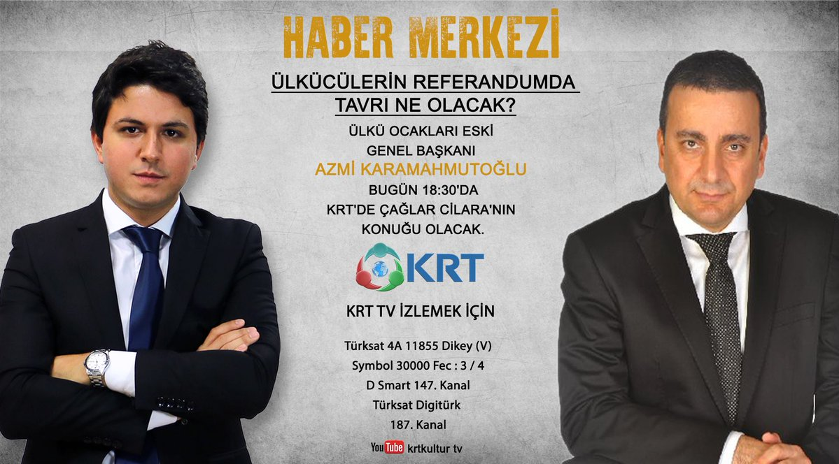 Azmi Karamahmutoğlu, Cilara'nın konuğu olacak