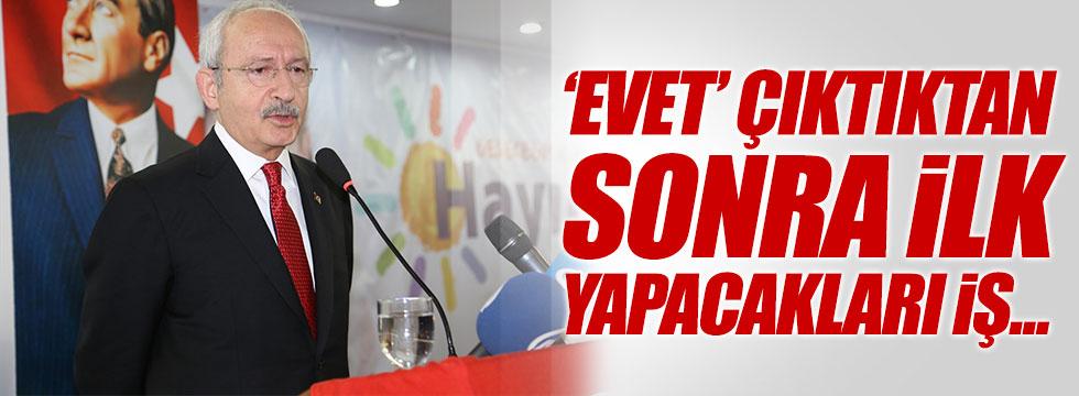 Kılıçdaroğlu: 'Evet' çıkarsa ilk iş Suriyelilere vatandaşlık verecekler