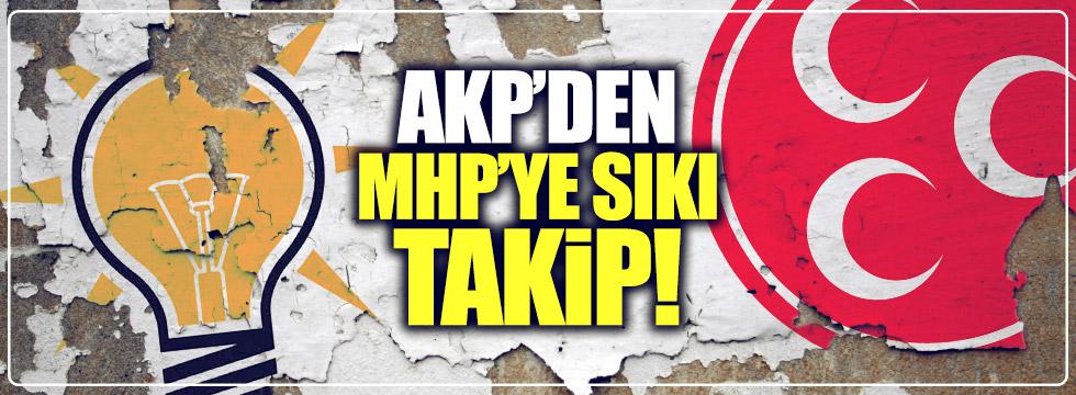 AKP'den, MHP'ye sıkı takip